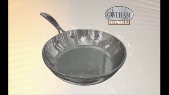 Gotham Steel TV Spot, '20 Piece Non-Stick Cookware: Free Shipping'