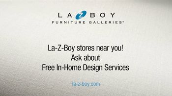 La-Z-Boy 2 Great Chairs Event TV Spot, 'Two Chairs for $799' - Thumbnail 7