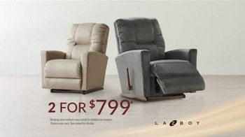 La-Z-Boy 2 Great Chairs Event TV Spot, 'Two Chairs for $799' - Thumbnail 5