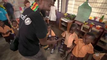 UNICEF TV Spot, 'WWE: Kid Power' Featuring Kofi Kingston, Titus O'Neil, Bayley - 1 commercial airings