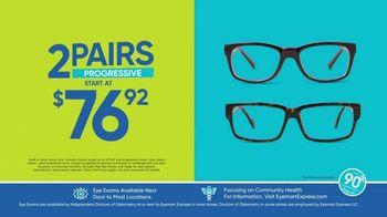 Eyemart Express TV Spot, 'Tax Refund: Two Pairs Under $40' - Thumbnail 4