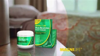 MagniLife Pain Relieving Foot Cream TV Spot, 'Get Relief: Spray' - Thumbnail 3