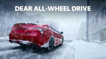 2021 Toyota Camry TV Spot, 'Dear All-Wheel Drive' [T2]