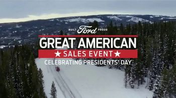 Ford Great American Sales Event TV Spot, 'Presidents Day: SUVs' Song by Kaptain [T2] - Thumbnail 9
