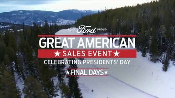 Ford Great American Sales Event TV Spot, 'Presidents Day: SUVs' Song by Kaptain [T2] - Thumbnail 2