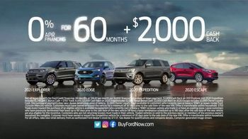 Ford Great American Sales Event TV Spot, 'Presidents Day: SUVs' Song by Kaptain [T2] - Thumbnail 8