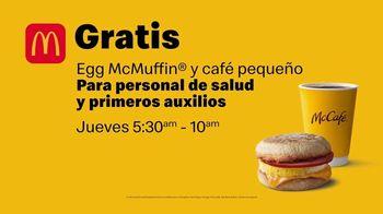 McDonald's TV Spot, 'Thank You Thursday: personal de la salud' [Spanish] - Thumbnail 6