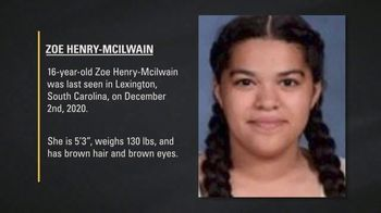 National Center for Missing & Exploited Children TV Spot, 'Zoe Henry-Mcilwain'