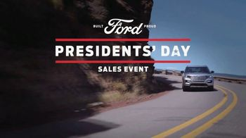 Ford Presidents Day Sales Event TV Spot, 'Making History' [T2] - Thumbnail 1