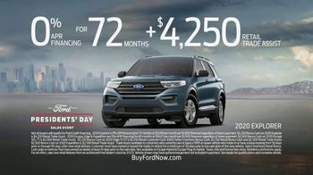 Ford Presidents Day Sales Event TV Spot, 'Making History' [T2] - Thumbnail 5
