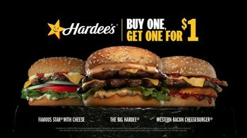 Hardee's The Big Hardee TV Spot, 'Cheese Hound: Buy One, Get One For $1' - Thumbnail 6
