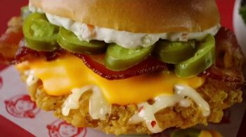 Wendy's Jalapeño Popper Chicken Sandwich and Salad TV Spot, 'Bun Bun Bun'