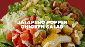 Wendy's Jalapeño Popper Chicken Sandwich and Salad TV Spot, 'Bun Bun Bun' - Thumbnail 3