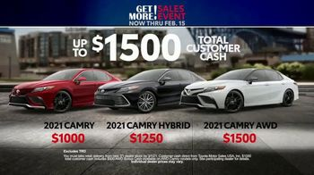 Toyota Get More Sales Event TV Spot, 'Presidents Day Weekend' [T2] - Thumbnail 5
