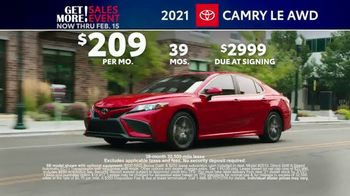 Toyota Get More Sales Event TV Spot, 'Presidents Day Weekend' [T2] - Thumbnail 6