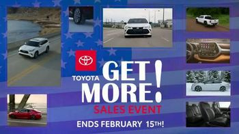 Toyota Get More Sales Event TV Spot, 'Presidents Day Weekend' [T2] - Thumbnail 7