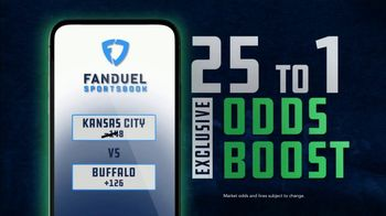 FanDuel Sportsbook TV Spot, 'Kansas City vs. Buffalo'