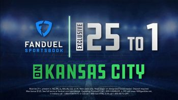 FanDuel Sportsbook TV Spot, 'Kansas City vs. Buffalo' - Thumbnail 9