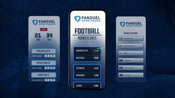 FanDuel Sportsbook TV Spot, 'Kansas City vs. Buffalo' - Thumbnail 6