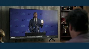 IBM Watson TV Spot, 'Lucky Fantasy Football Socks' Featuring Larry Fitzgerald Jr. - Thumbnail 8