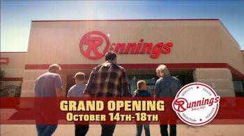 Runnings Grand Opening TV Spot, 'Hot Buys'