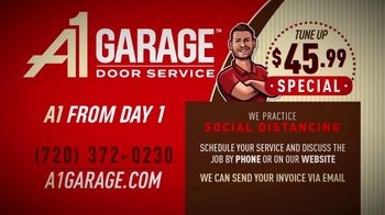 A1 Garage Door Service TV Spot, 'Open for Business: $45.99 Tune-Up Special' - Thumbnail 7