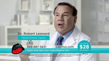 Capillus Cool Winter Sale TV Spot, 'Treat Hair Loss at Home' - Thumbnail 3