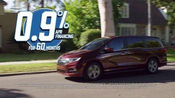 Honda Model Year End Sale TV Spot, 'All in Stock: Odyssey' [T2] - Thumbnail 4