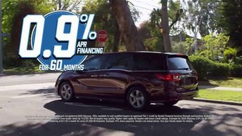 Honda Model Year End Sale TV Spot, 'All in Stock: Odyssey' [T2] - Thumbnail 5