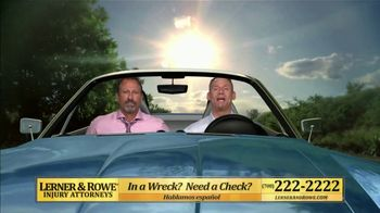 Lerner and Rowe Injury Attorneys TV Spot, 'Weekend: Car Wreck' - Thumbnail 2