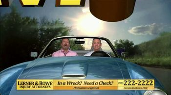 Lerner and Rowe Injury Attorneys TV Spot, 'Weekend: Car Wreck' - Thumbnail 3