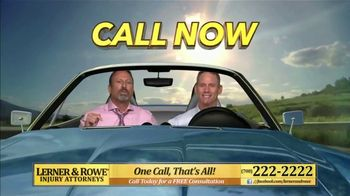 Lerner and Rowe Injury Attorneys TV Spot, 'Weekend: Car Wreck' - Thumbnail 5