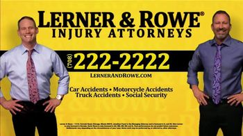 Lerner and Rowe Injury Attorneys TV Spot, 'Weekend: Car Wreck' - Thumbnail 6