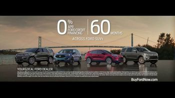 Ford TV Spot, 'Because of This: SUVs: Crew and Cargo' [T2] - Thumbnail 7