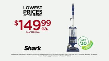 Kohl's Lowest Prices of the Season TV Spot, 'Shark Vacuums, Throws and Toys' - Thumbnail 5