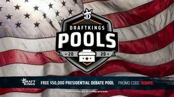 DraftKings TV Spot, 'Presidential Debate Pool' - 20 commercial airings