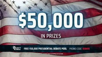 DraftKings TV Spot, 'Presidential Debate Pool' - Thumbnail 4