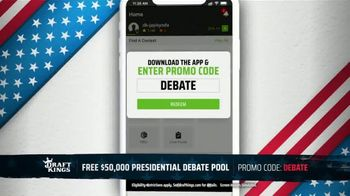 DraftKings TV Spot, 'Presidential Debate Pool' - Thumbnail 5