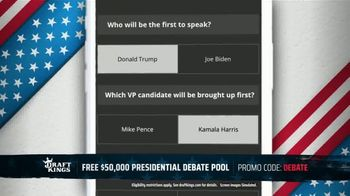 DraftKings TV Spot, 'Presidential Debate Pool' - Thumbnail 7