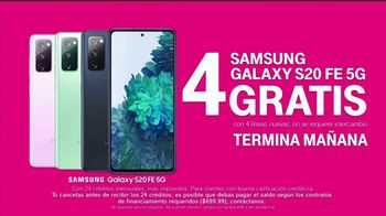 T-Mobile TV Spot, 'Netflix on Us: Samsung Galaxy S20 FE 5G' con LeJuan James [Spanish] - Thumbnail 7