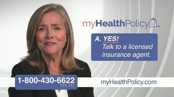 My Health Policy TV Spot, 'Questions About Next Years Coverage' Featuring Meredith Vieira - Thumbnail 7