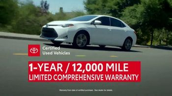 Toyota Certified Used Vehicles Sales Event TV Spot, 'The Best of the Best' [T2] - 2 commercial airings