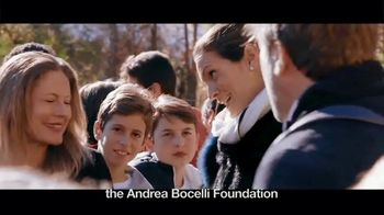 Andrea Bocelli Foundation TV Spot, 'Support Thousands of Children'