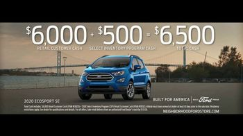 Ford TV Spot, 'Because of This: SUVs: Rain and Snow' [T2] - Thumbnail 6