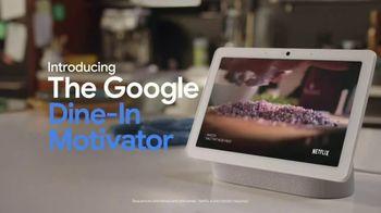 Google Nest Hub TV Spot, 'Dine-In Motivator'