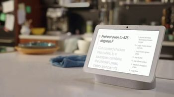 Google Nest Hub TV Spot, 'Dine-In Motivator'