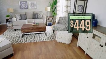 Ashley HomeStore Lowest Prices of the Season TV Spot, 'Final Days: Living Room Essensials' - Thumbnail 6
