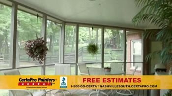 CertaPro Painters TV Spot, 'Home Makeover' - Thumbnail 3