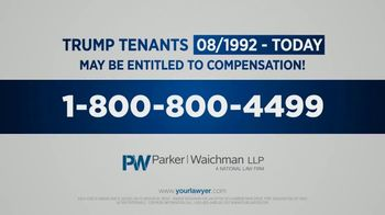 Parker Waichman TV Spot, 'Trump Tenants' - Thumbnail 8