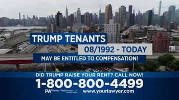Parker Waichman TV Spot, 'Trump Tenants' - Thumbnail 7